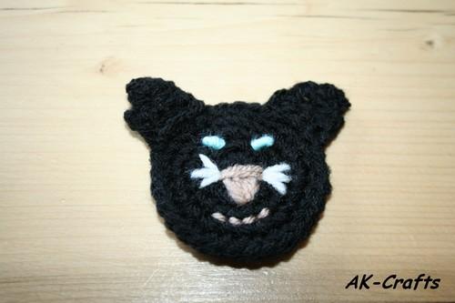 How To Crochet A Little Cat Applique The Art Of Craft